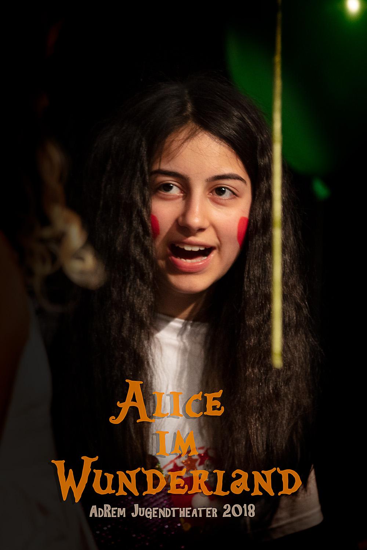 Alice im Wunderland - Prämiere 2019 im DasHaus. Foto: Robert Skrobich.