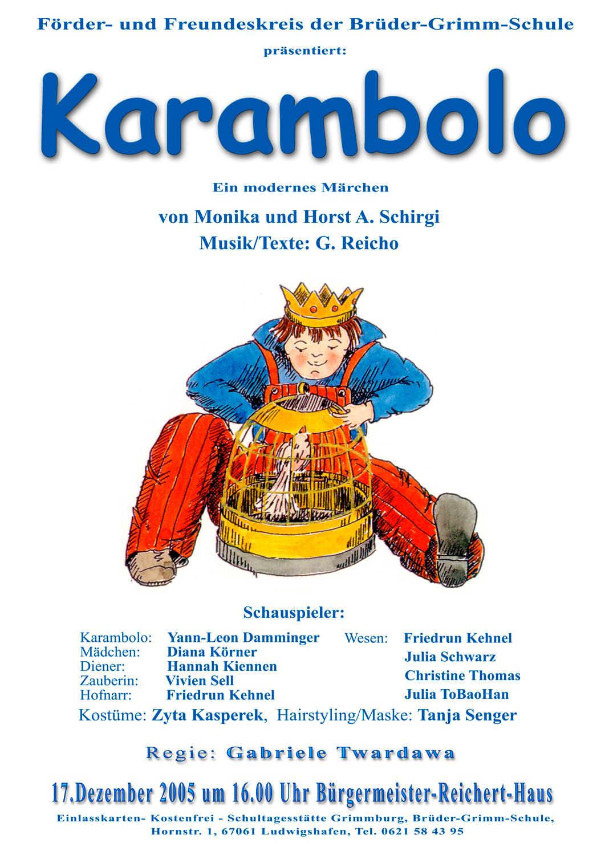 2005_Karambolo - Plakat