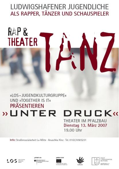 2007_UNTER DRUCK - Plakat