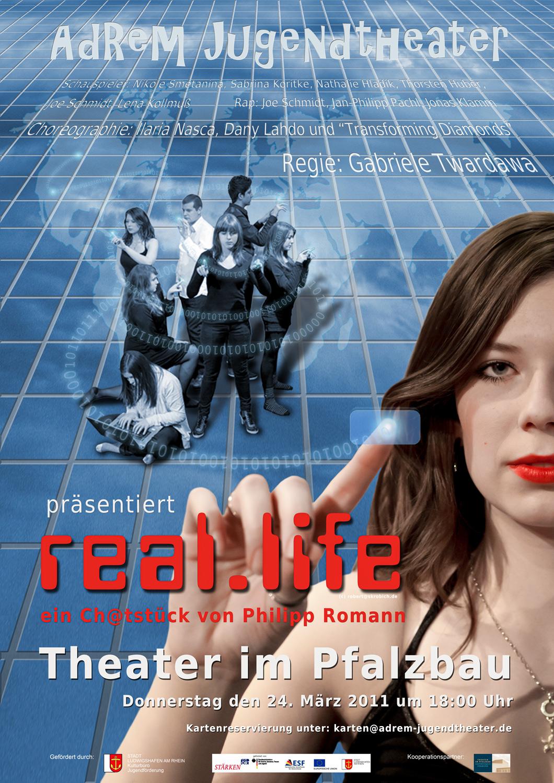 2011_real.life - Plakat