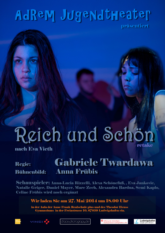 2014_Plakat -Reich und schnön - © 2014 Robert Skrobich